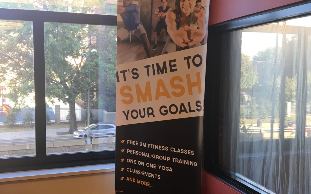 Power for Life Fitness as a Marketing Showpiece